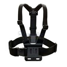 Chest Strap Mount Harness Belt Adjustable Elastic Body for GoPro Hero 2/3/3+/4