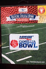 NCAA College Football Camellia Bowl Patch 2014/15 Bowling Green, South Alabama