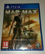 MAD MAX The Game PS4 New Sealed UK PAL Version Sony PlayStation 4 - Fast Despach