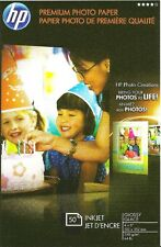 HP Premium 4 X 6 Gloss~Photo Paper~Borderless~200 count~NEW~LABEL~WOW