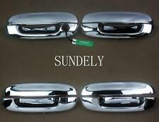 New Chrome Door Handle Cover Trim fit for GMC Envoy 2007 2008 2009 DTS 2006-2010