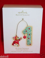 Hallmark 2009 My Baby's 1st Christmas Dated First Ornament Child's Age Boy Girl
