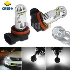 2 Xenon White H11 H8 H9 High Power 20W CREE LED Bulbs for Driving Fog Lights DRL