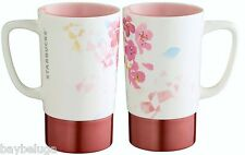 "2016 Limited Edition Starbucks Cherry Blossom Sakura ""Airy"" Mug ceramic/steel"