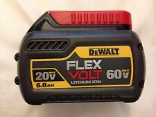 New 2016 Dewalt 20V to 60V Max Flexvolt DCB606 6.0Ah Lithium Ion Battery Li-Ion