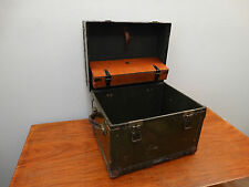 Vintage WWII Camp Mess Kit Field Desk Herkert & Meisel Trunk Co.