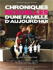 Affiche 120x160cm CHRONIQUES SEXUELLES D'UNE FAMILLE D'AUJOURD'HUI 2012 NEUVE