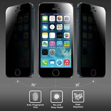 Anti-spy Privacy Genuine Tempered Glass Screen Protector for iPhone 5 5S 5C UK