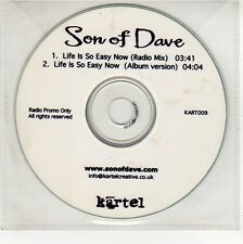 (GG137) Son Of Dave, Life Is So Easy Now - DJ CD