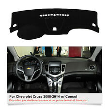Fits For Chevrolet Cruze 2010-2014 w/ Consol DashMat Dash Cover Mat Car Interior