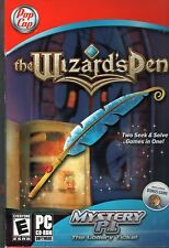 THE WIZARD'S PEN + Mystery P.I. The Lottery Ticket Hidden Object PC Game NEW