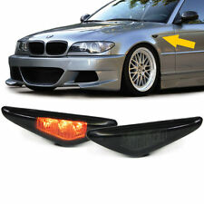 SMOKED LED SIDE REPEATERS FOR BMW E46 3 SERIES FACELIFT COUPE & CONVERTIBLE  V2