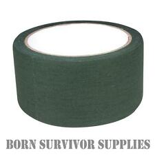 Web-tex HIGH STRENGTH FABRIC GREEN SNIPER TAPE - 10M Army Camouflage Cloth Wrap