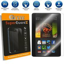 SuperGuardZ Tempered Glass Screen Protector Shield Amazon Kindle Fire HDX 7 7""