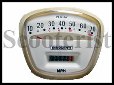 Lambretta GP DL SX / LI TV Series 3 Speedo 0-70 mph Green Face Speedometer Tacho