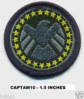 1.5 INCH CAPTAIN AMERICA AGENTS OF SHIELD PATCH - CAPTAM10