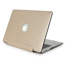 PU Leather Coated Sleeve Hard Cover Case for Macbook Pro 13/15 Retina Air 11/13""