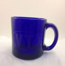 LARGE COLBALT BLUE MUG WITH The Letters VT