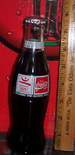 1992 BARCELONA OLYMPIC'S SHARING THE OLYMPIC IDEAL 8 OZ COCA - COLA BOTTLE FULL