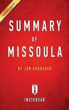 Missoula by Jon Krakauer Summary and Analysis : Rape and the Justice System...