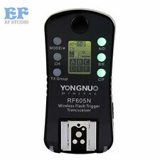 Yongnuo RF-605 N Wireless Flash Trigger for Yongnuo YN-560 III RF-603 II Nikon