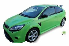 DFO15228 FORD FOCUS mk2 3DOOR 2004-2010 WIND DEFLECTORS 2pc HEKO  TINTED