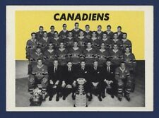 1965-66 Topps MONTREAL CANADIENS Team Photo #126 Vg-Ex NICE !!
