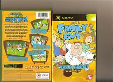 FAMILY GUY VIDEO GAME XBOX / X BOX 360