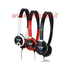 CUFFIE T PROFESSIONALI per DJ HI-FI PC GAME MP4 MP3 IPHONE IPOD STEREO JACK 3,5