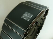 Nero 70s 1970s stile vintage con JUMP LED DIGITALE LCD epoca Watch JUMP HOUR