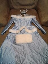 Crystal The Ice Princess Dress, Costume Girls MED (7-10) Crown & Warmr Shipp Inc