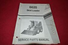 Gehl 6620 Skid Steer Loader Dealer's Parts Book BVPA