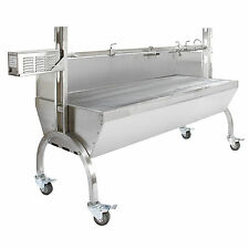 Hog Roast Machine BBQ Spit Pig Roaster Rotisserie Stainless Steel Roasting Motor
