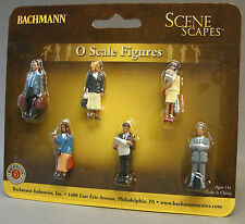 BACHMANN O GAUGE STANDING PLATFORM PASSENGERS figure people train scenery 33160