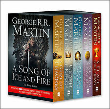 A Game of Thrones: The Story Continues: A Complete Box Set of Volumes 1-4