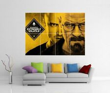 BREAKING BAD GIANT WALL ART PRINT  1 - 2 - 3 - 4 PICTURE PHOTO POSTER J27