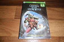 Ian Livingstone`s -- CAVERNS of the SNOW WITCH // first published 1984