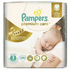 _PAMPERS Premium Care New Born Gr.1 2-5 kg 88 Windeln Starter Paket Super Schutz