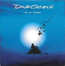 """DAVID GILMOUR - RARO CDs PROMO """" ON A ISLAND """""""