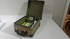 BUS CONDUCTORS TICKET CASH BOX BUS DRIVERS CASH BOX vintage old Yellow Buses