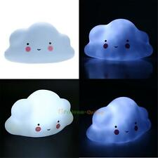 Lovely Cloud Baby Children LED Night Light Nightlight Room Decoration Kids Toys