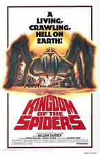 Kingdom Of The Spiders Poster 02 A3 Box Canvas Print