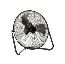 20 in Commercial Industrial  High Velocity Portable Floor Shop Fan MAX  6800-CFM