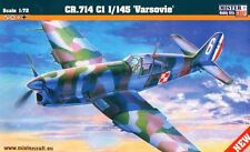 CAUDRON CR-714 C1 (FRENCH, FINNISH, POLISH & LUFTWAFFE MKGS) 1/72 MISTERCRAFT