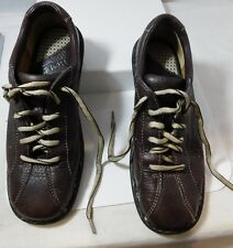 BORN Woman's US 7.5 EUR 38.5 Brown Leather Shoe Laced up Oxford