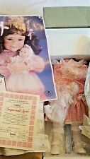 Sugar and Spice Dianna Effner Mother Goose Knowles Doll Original Issue NRFB