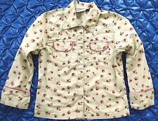 Villa Happ Flower Blouse size 122 6-7 years