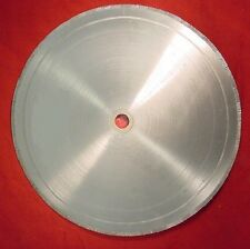 "6"" notched rim diamond lapidary rock saw blade  fits 1/2 inch   w/bushing   DT"