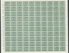 Italy 1945 Sc# J44 Arms Postage due 25c 2scans sheet of 100 MNH