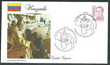 1985 VATICANO VIAGGI DEL PAPA VENEZUELA CIUDAD GUJANA - RM3